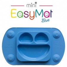 Silikona šķīvis EasyMat Mini Blue