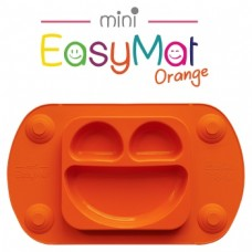 Silikona šķīvis EasyMat Mini Orange