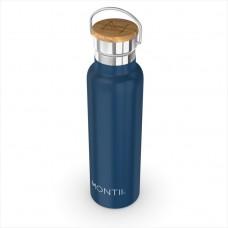 Nerūsējošā tērauda ūdens pudele Montii NAVY BLUE