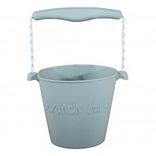 Silikona spainītis Scrunch Buckets Grey