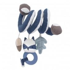 Aktivitātes spirāle zīdainim Woodland blue