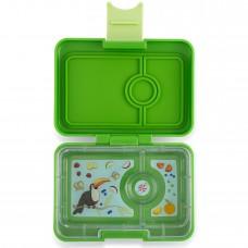 Priešpiečių dėžutė Yumbox MiniSnack - Cilantro Green