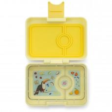 Priešpiečių dėžutė Yumbox MiniSnack - Sunburst Yellow